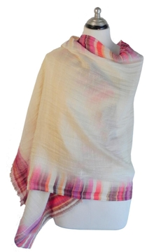 Cuccia Italia Summer Wool Scarf - Alternate List Image