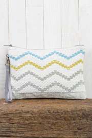 Lovestitch Summer Zig Zag Clutch - Product Mini Image