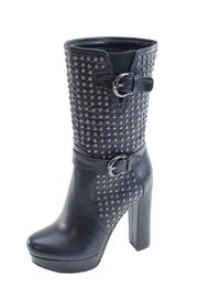 Summer Rio Corp Studded Heeled Boot - Front cropped