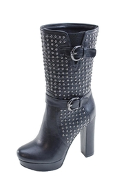 Summer Rio Corp Studded Heeled Boot - Product Mini Image