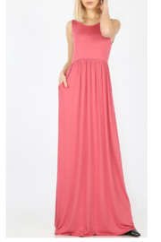 Zenana Summertime Fun maxi - Front cropped