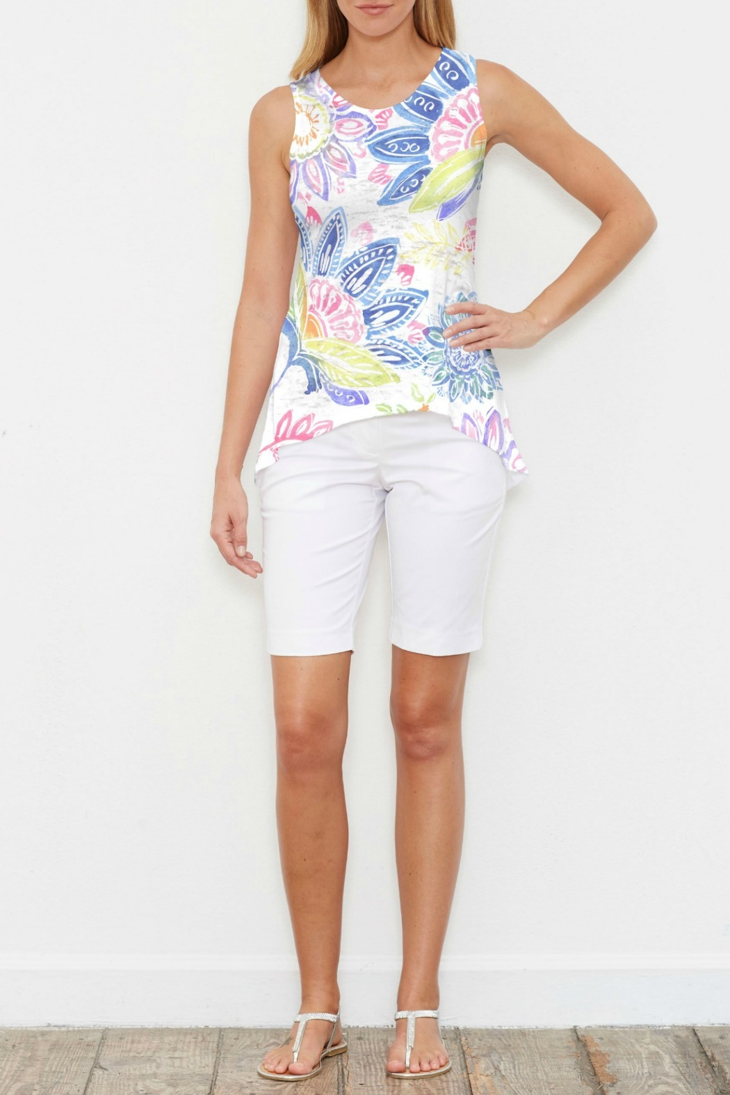 Whimsy Rose Summertime High-Low Tank - Main Image