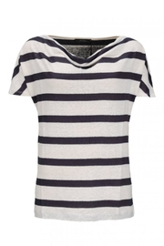 Emotions Summery Striped T-Shirt - Front cropped