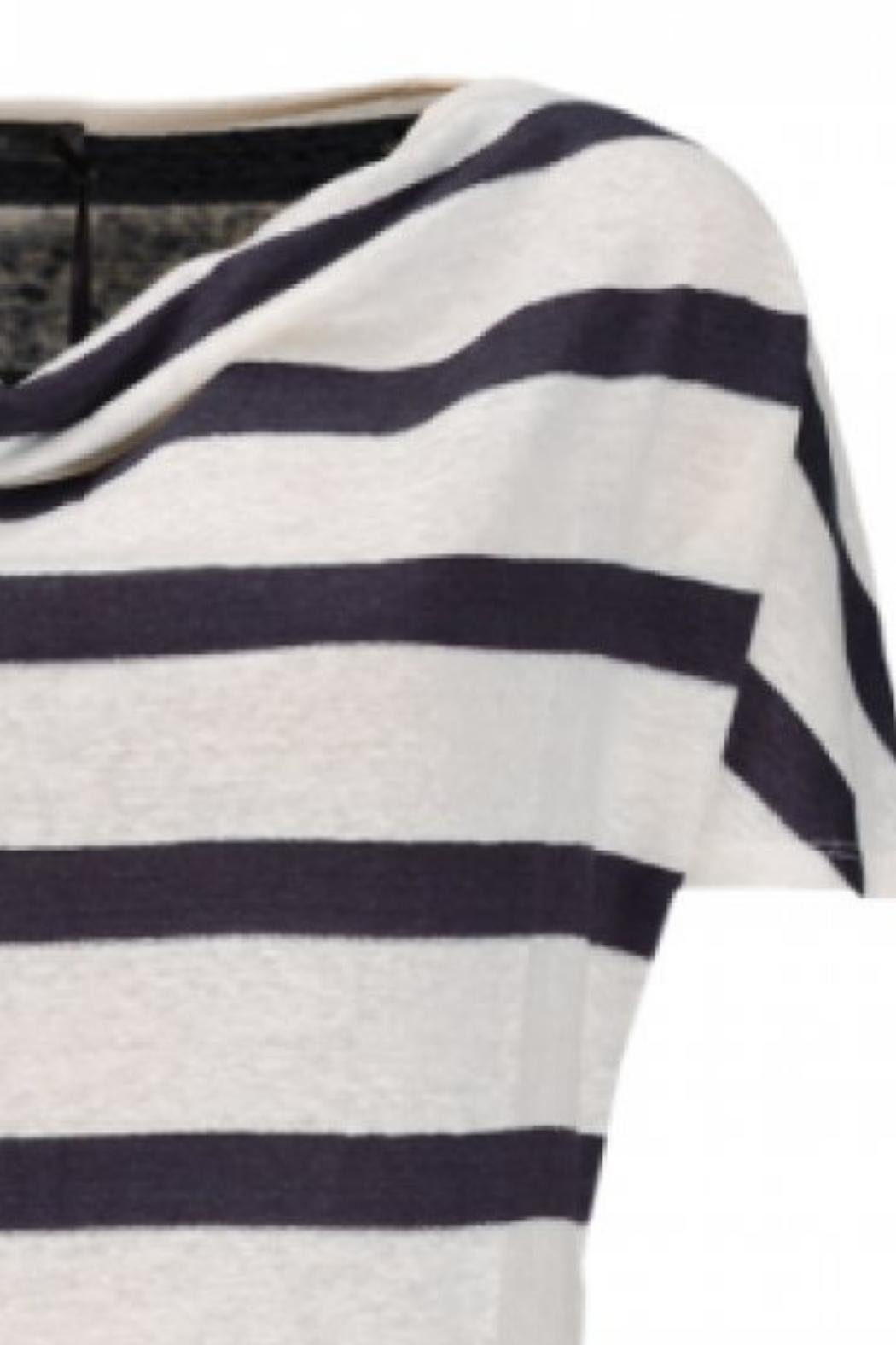 Emotions Summery Striped T-Shirt - Front Full Image