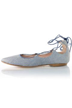 Shoptiques Product: Lace-Up Ballet Flat