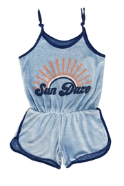 TINY WHALES Sun Daze Romper - Front cropped