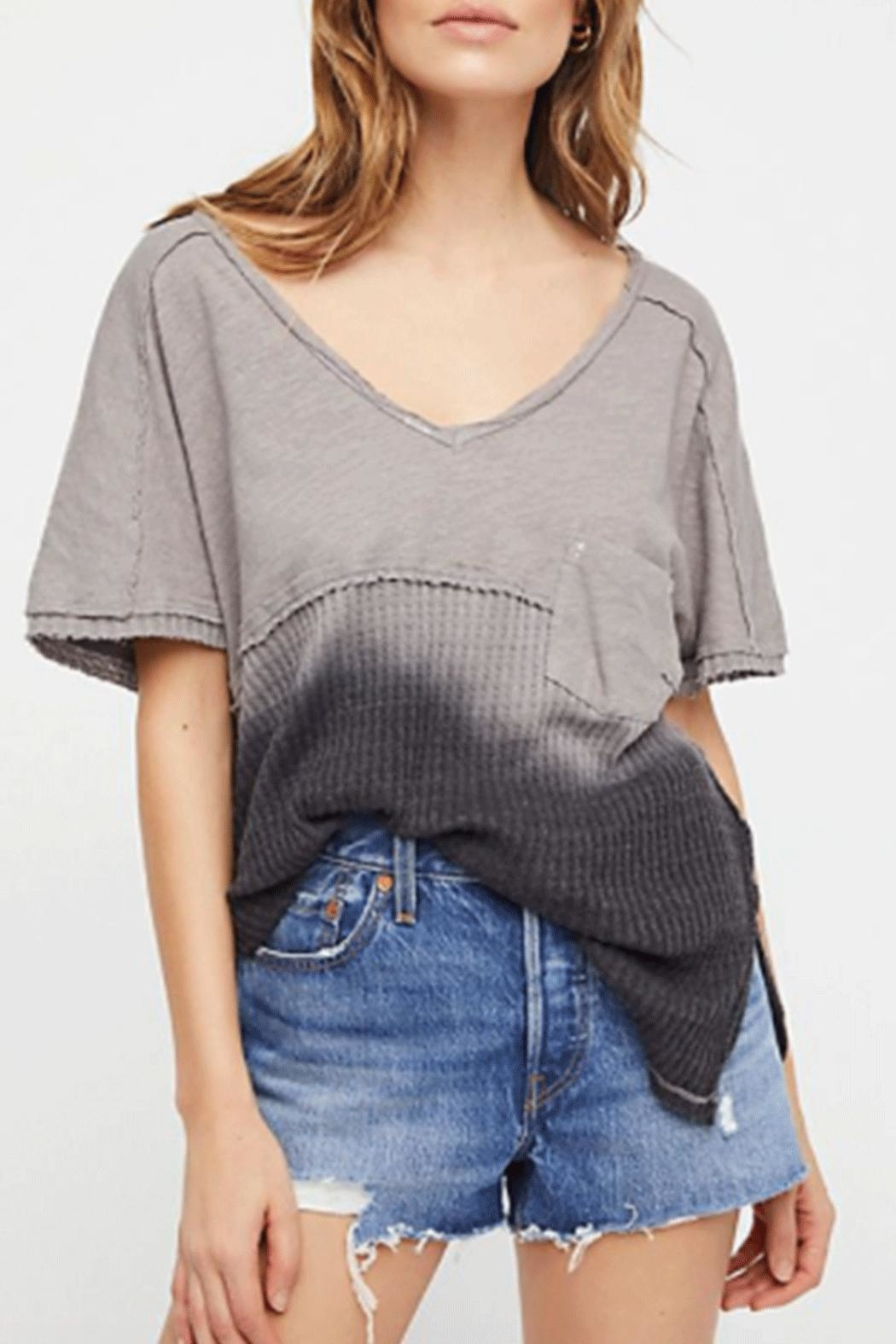 Free People Sun Dial Tee - Front Cropped Image