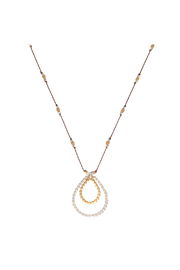 Bronwen Sun Disc Necklace - Product Mini Image