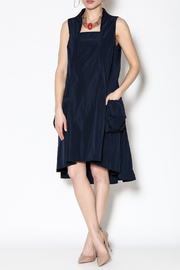 Sun Kim Navy Midi Dress - Product Mini Image