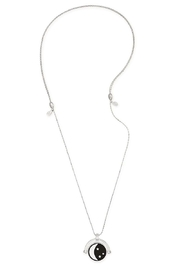 Alex and Ani Sun Moon Necklace - Front full body