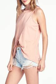 Knit Riot Sun of a Beach Knot Front Tank - Front cropped