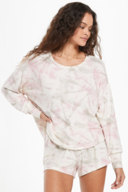 z supply Sun Ray Faded Tie-Dye Pullover - Product Mini Image