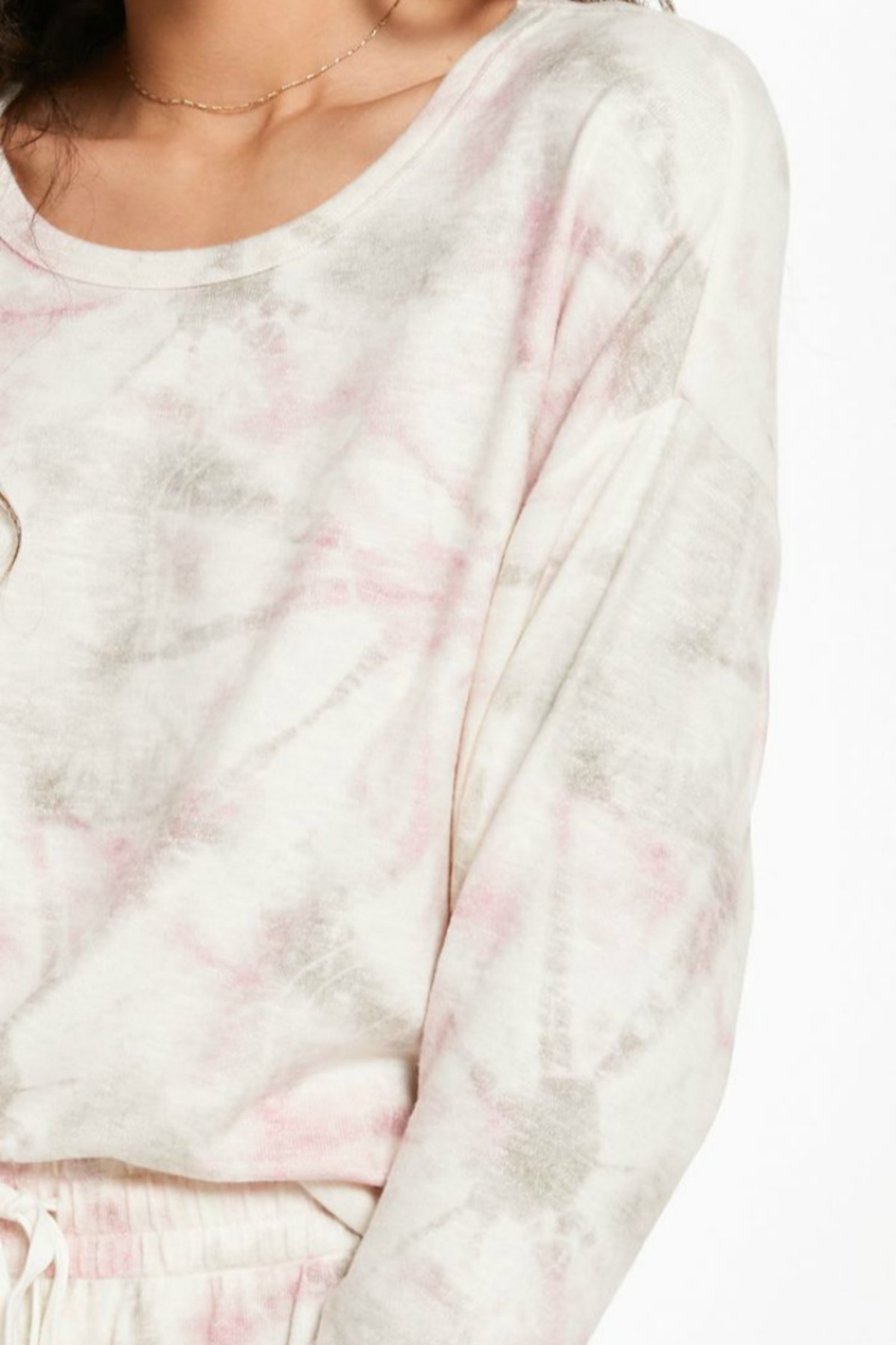 z supply Sun Ray Tie Dye Top - Side Cropped Image
