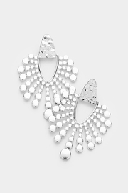 Embellish Sun Rays Earrings - Front cropped