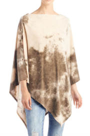 CoCo and Carmen  SUN SETTER TIE DYE PONCHO - Other