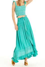 Patrons of Peace Sun Shining Maxi Skirt - Front cropped
