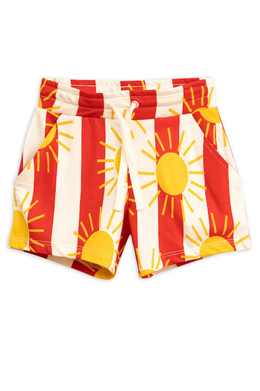 Mini Rodini Sun Stripe Shorts - Main Image