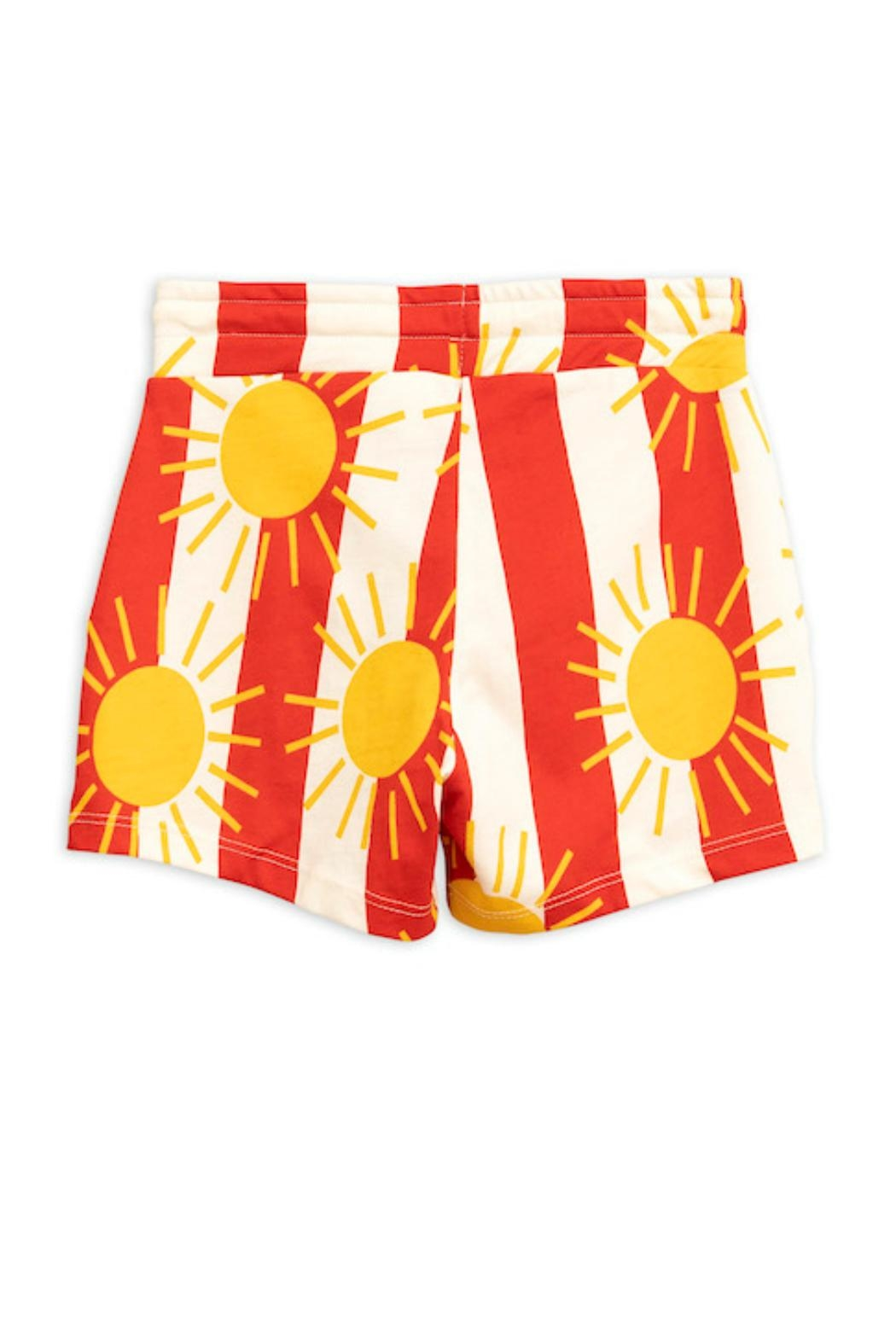 Mini Rodini Sun Stripe Shorts - Front Full Image