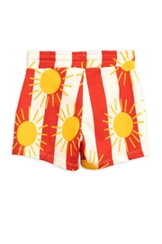 Mini Rodini Sun Stripe Shorts - Front full body