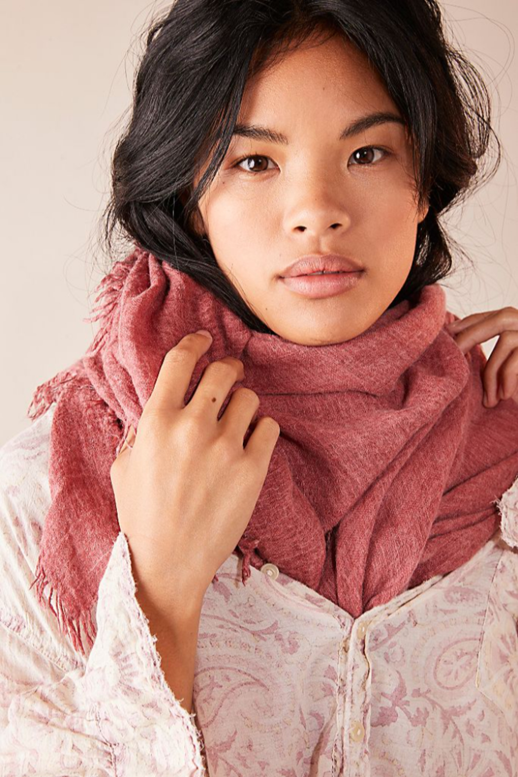 Free People Sun Washed Travel Scarf - Front Full Image