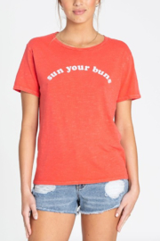 Billabong Sun Your Buns Tee - Front cropped