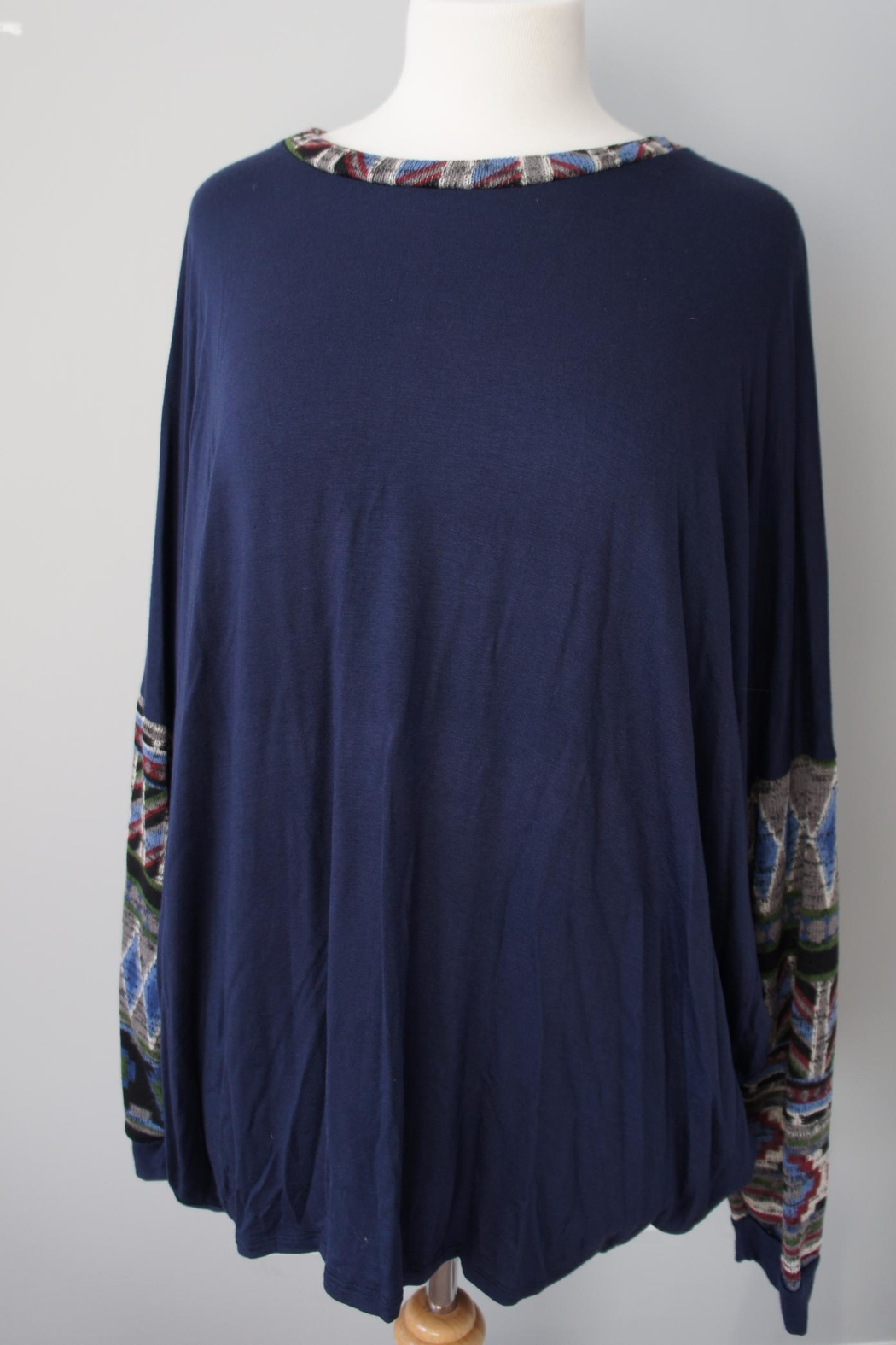 Sun & Moon Southwest Accent Top - Front Full Image