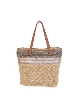 Shoptiques Product: Straw Shoulder Tote
