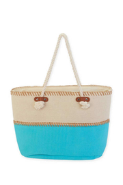 Sun n Sand Canvas Shoulder Tote - Product Mini Image