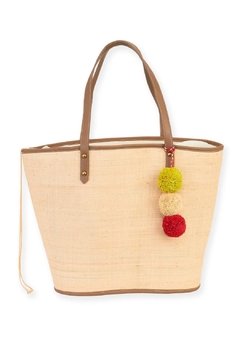 Sun n Sand Soul Power Straw Tote - Alternate List Image