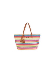 Sun n Sand Straw Shoulder Tote - Product Mini Image