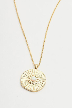 Gorjana Sunburst Coin Necklace - Alternate List Image