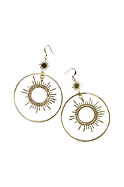 Fabulina Designs Sunburst Earrings - Product Mini Image