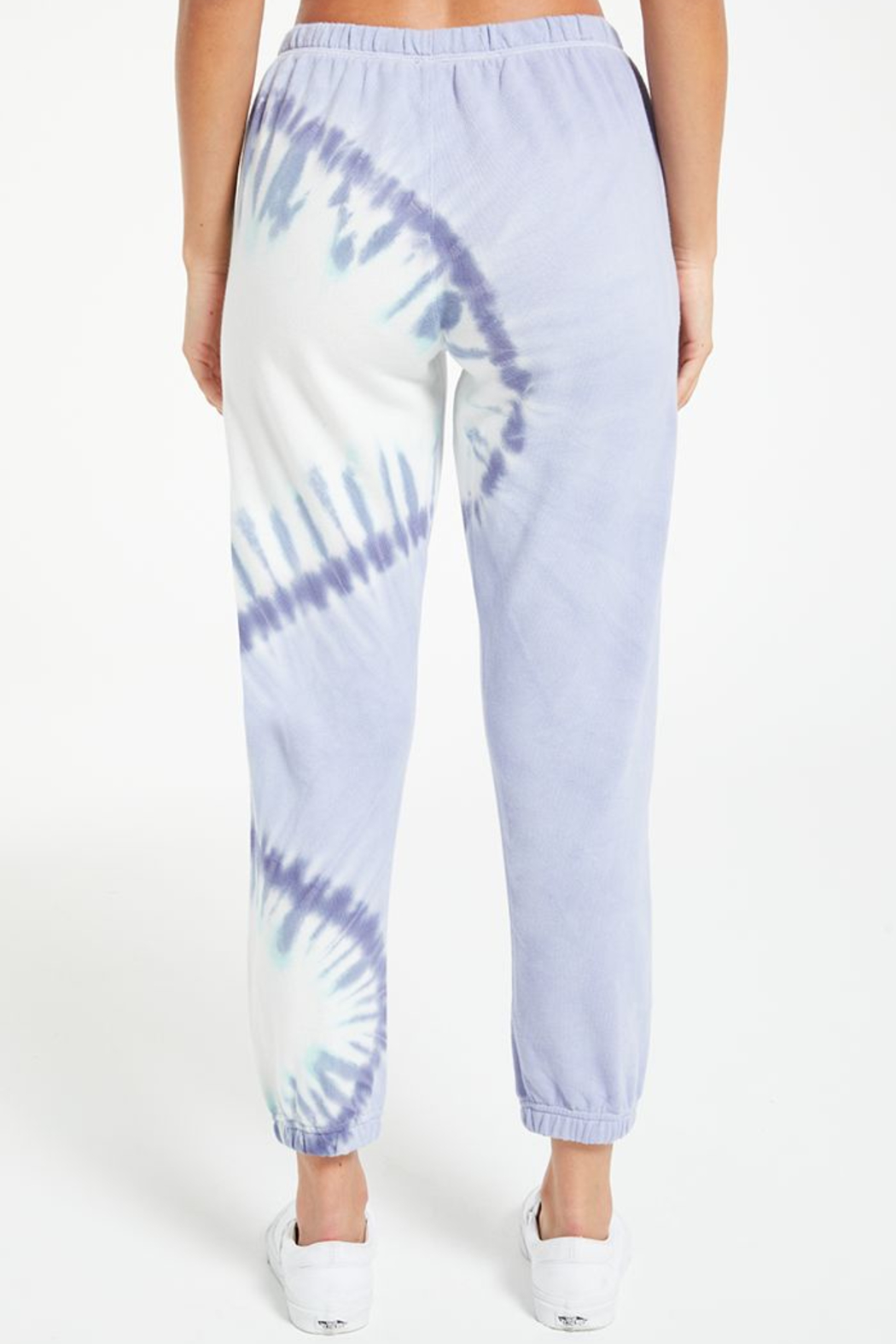 z supply Sunburst tie dye jogger - Side Cropped Image