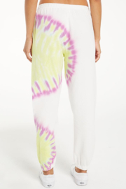 z supply Sunburst tie dye jogger - Back cropped