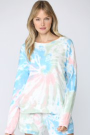 Fate Sunburst Tie Dye Sweatshirt - Product Mini Image