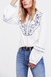 Free People Sundance Kid Henley - Front cropped