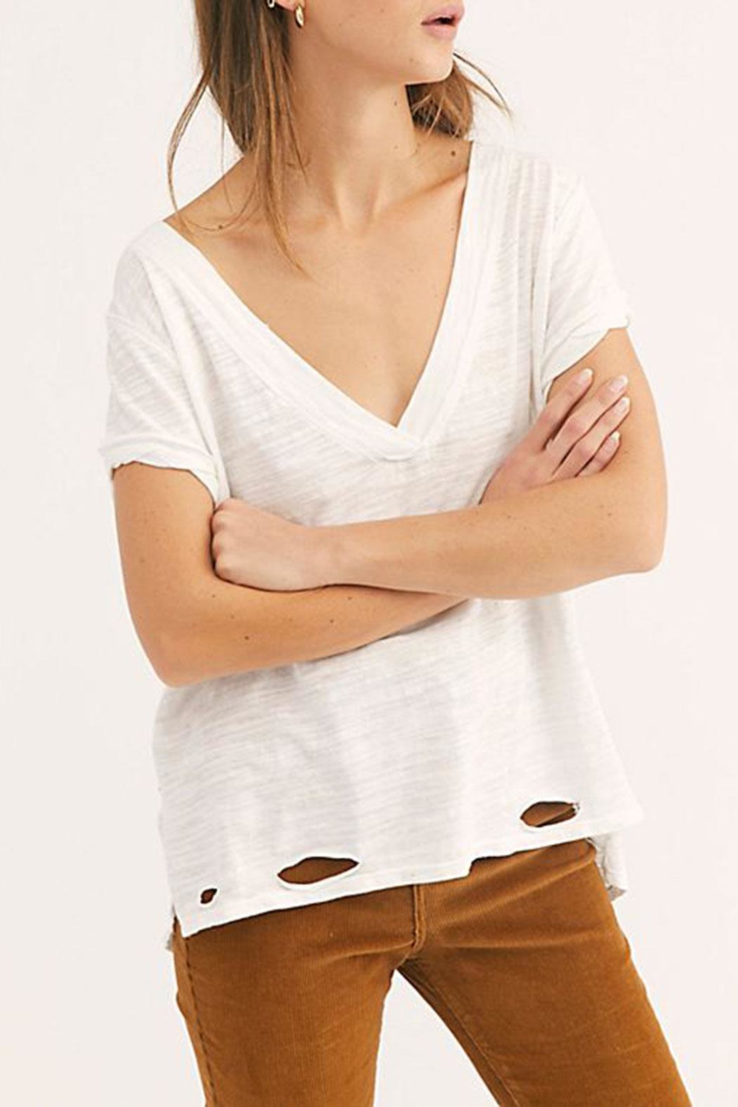 Free People Sundance Tee - Front Cropped Image