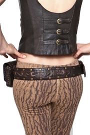 Sundari Leather Festival Belt - Side cropped