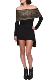 Sundari Shipibo Hoody Dress - Front full body
