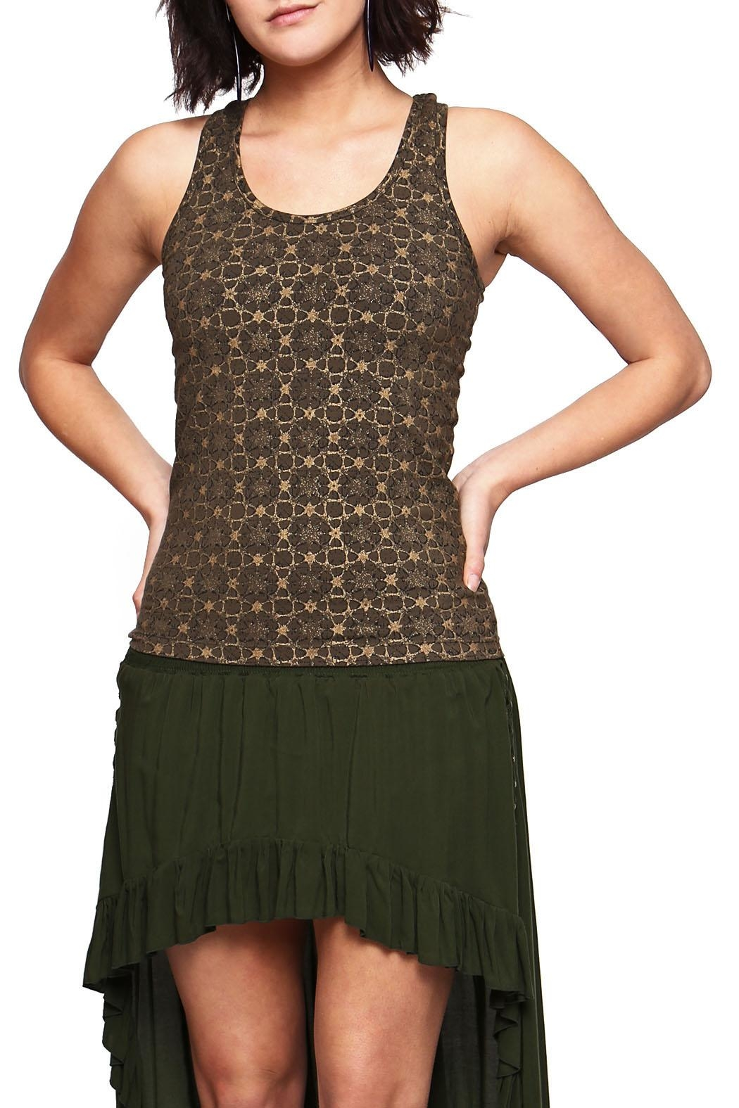 Sundari Star Dust Top - Front Cropped Image