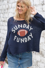 Wooden Ships Sunday Funday Sweater - Front full body