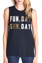 Color Bear Sunday Funday Tank - Front cropped