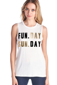 Color Bear Sunday Funday Tank - Alternate List Image