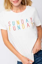 Polagram + Baevely Sunday Funday top - Product Mini Image