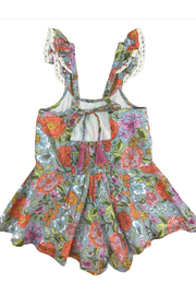 Mimi and Maggie Sunday Morning Romper - Front full body