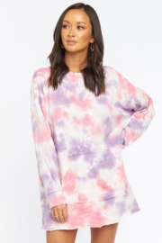Show Me Your Mumu Sunday Sweatshirt Dress - Product Mini Image