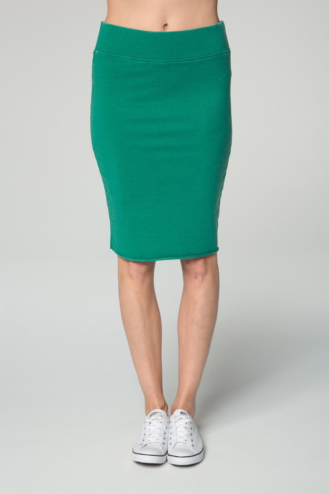 Sundays Knee Length Tube Skirt - Front Cropped Image