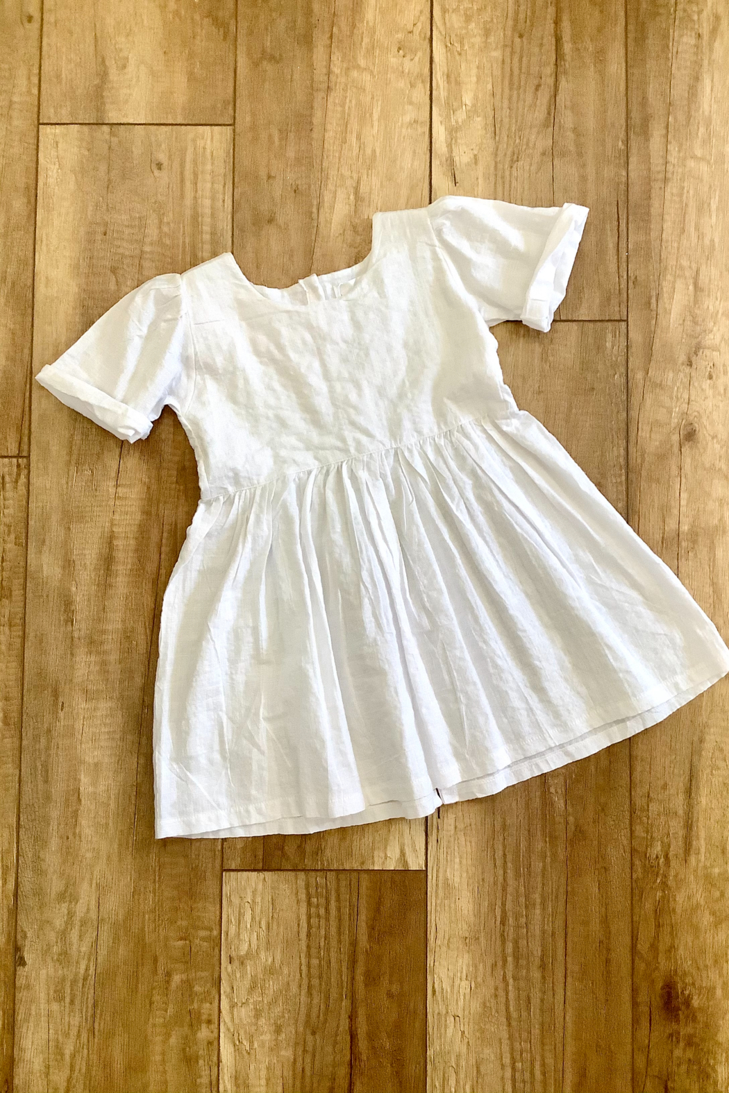 Mahli Sundays Linen Dress White - Main Image
