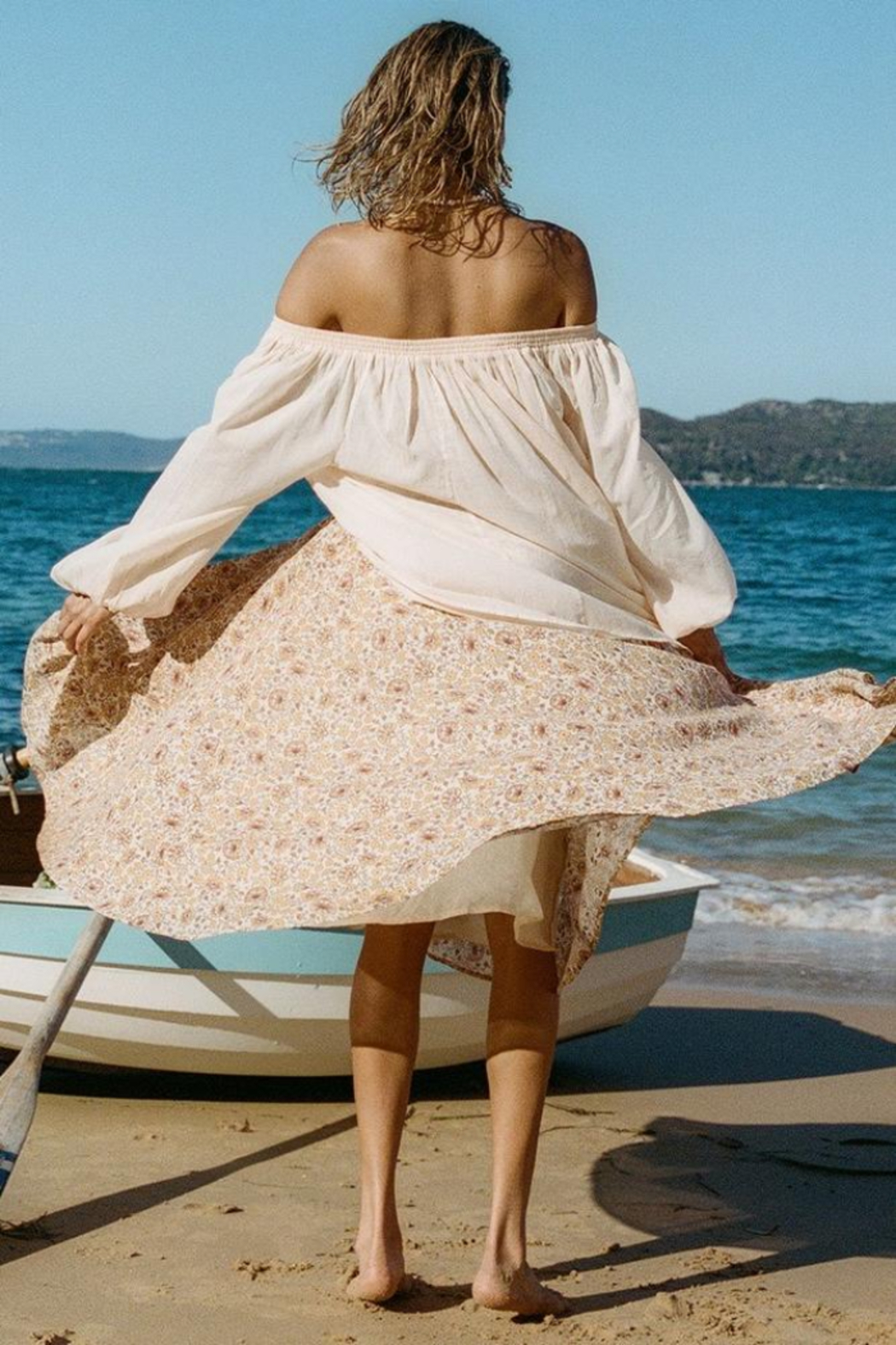 Spell & the Gypsy Collective Sundown Kerchief Skirt - Side Cropped Image