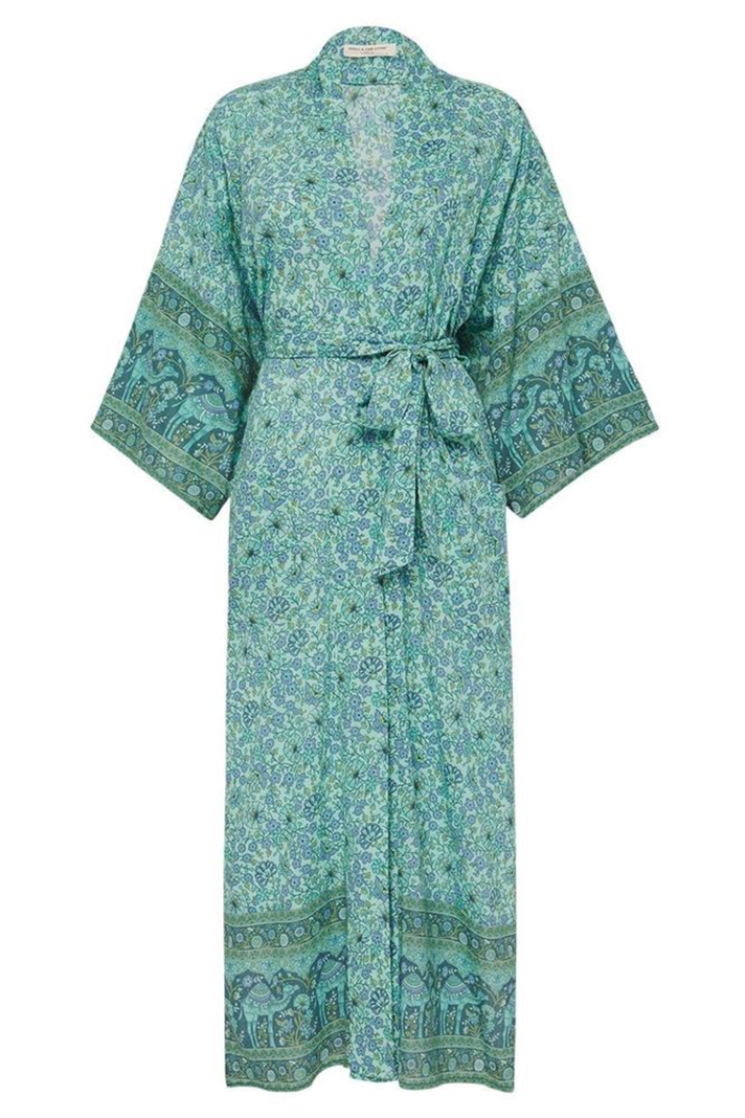 Spell & the Gypsy Collective Sundown Maxi Robe - Back Cropped Image